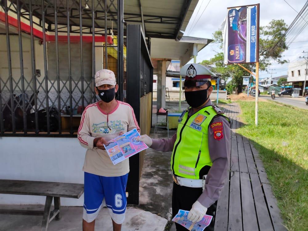 Giat Patroli dan Sosialisasi Himbauan Cara Pencegahan Penyebaran Virus Corona / Covid 19.