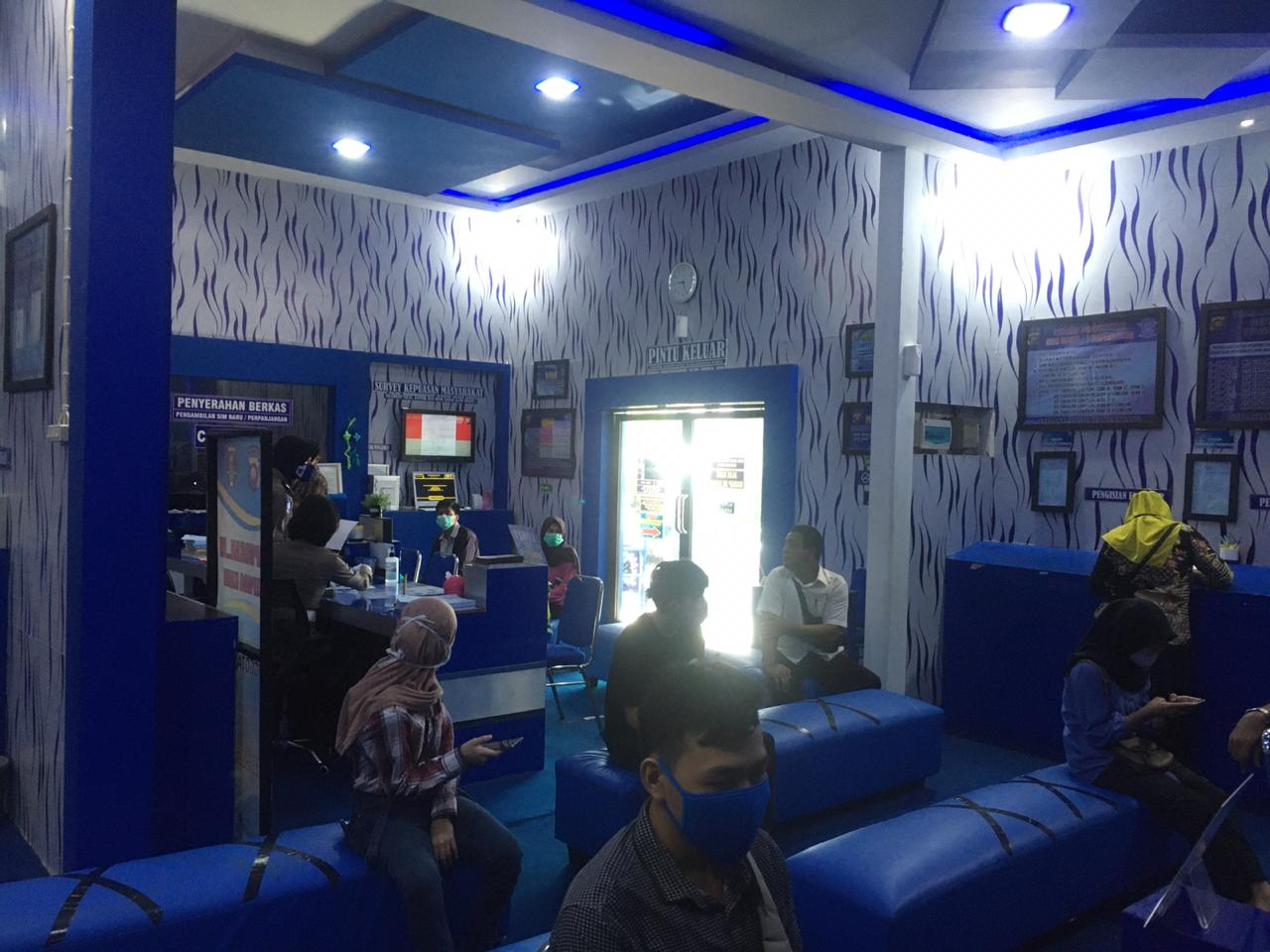 Cegah Covid-19, Polres Ketapang Berlakukan Prosedur Ketat Pelayanan SIM