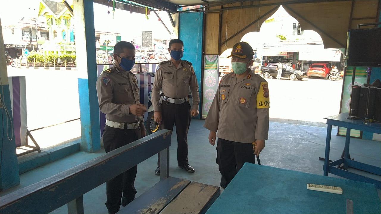 H-1 Idul Fitri, Kapolres Ketapang Cek Pos PAM Ops Ketupat Kapuas 2020