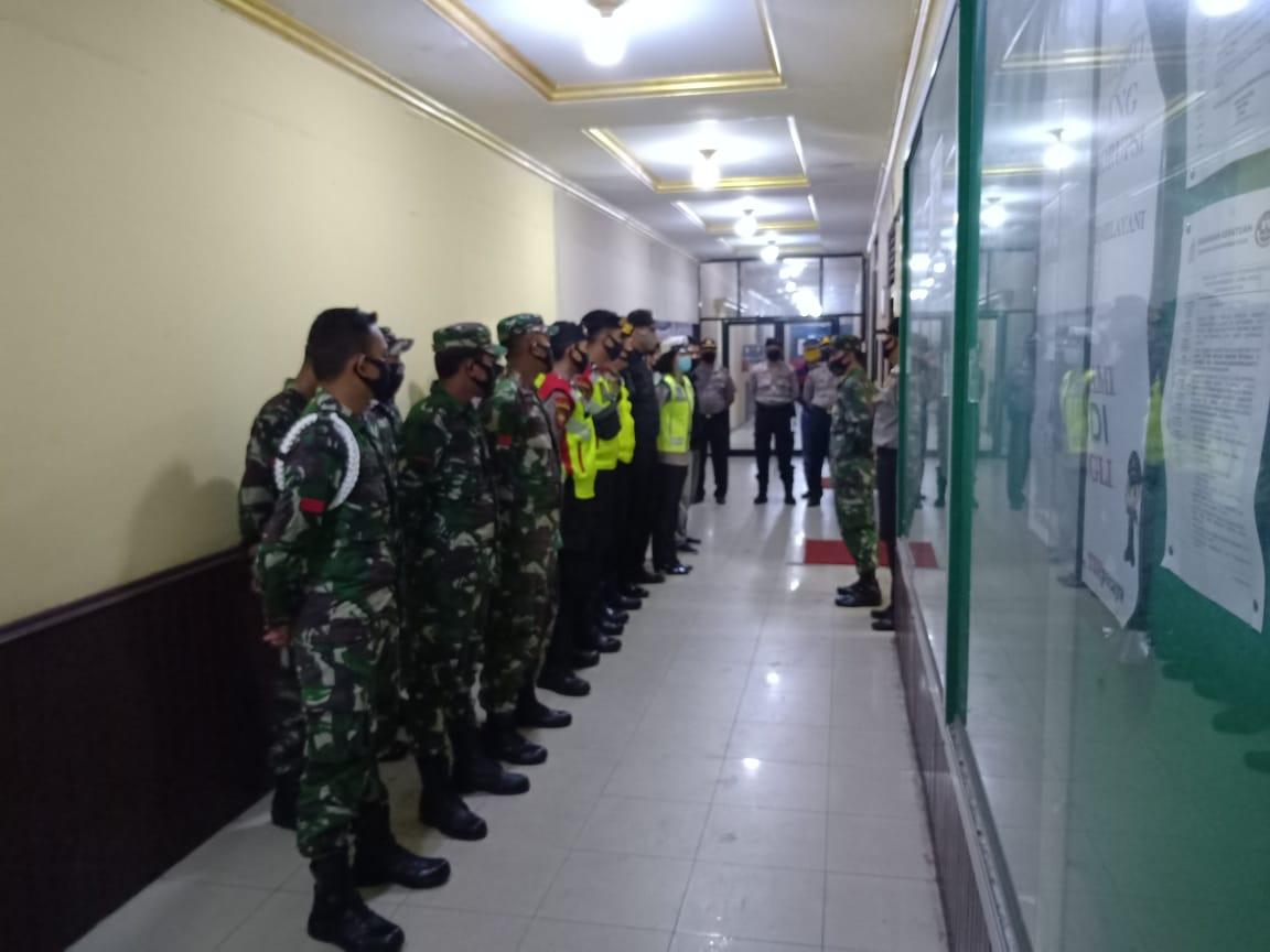 Sat Lantas Polres Ketapang Giat Apel Gabungan Patroli Himbauan Cegah Corona