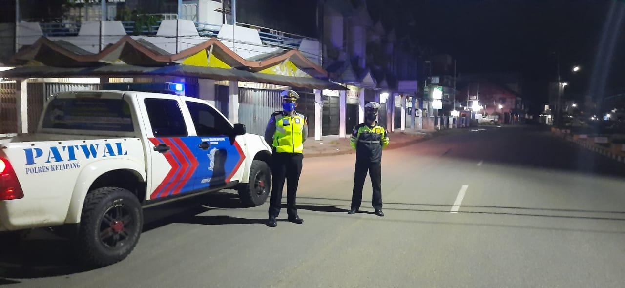 Akhir Pekan, Satlantas Polres Ketapang Giat Patroli Malam Antisipasi Balapan Liar