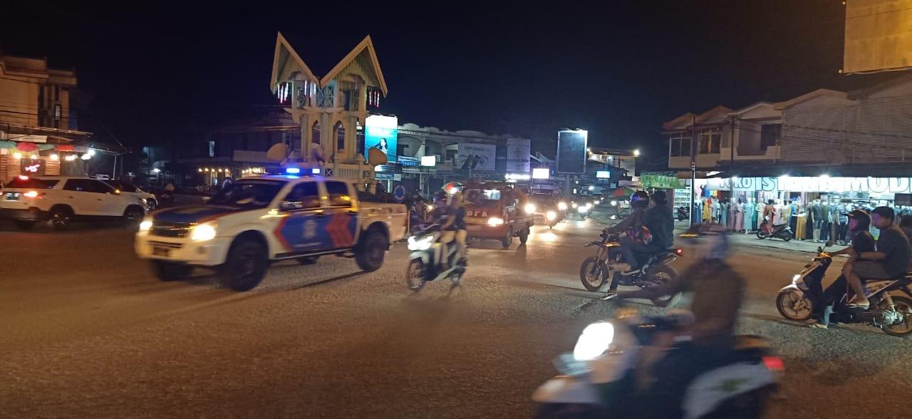 Satlantas Polres Ketapang Gencar Beri Himbauan Masyarakat Protokol Kesehatan Covid-19