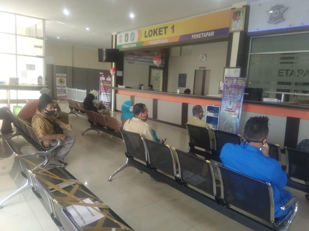 Buka Pelayanan di Tengah Wabah Corona, Samsat Ketapang Ikuti Protokol New Normal Life