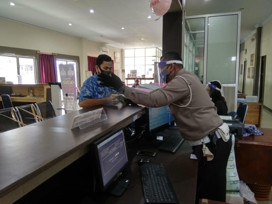 New Normal, Samsat Ketapang Tetap Buka Layanan Pajak