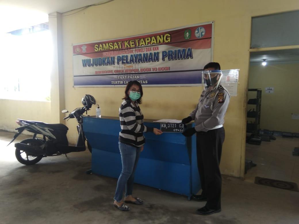 Pelayanan SIM dan Samsat Polres Ketapang Tetap Sesuai Protokol Covid-19
