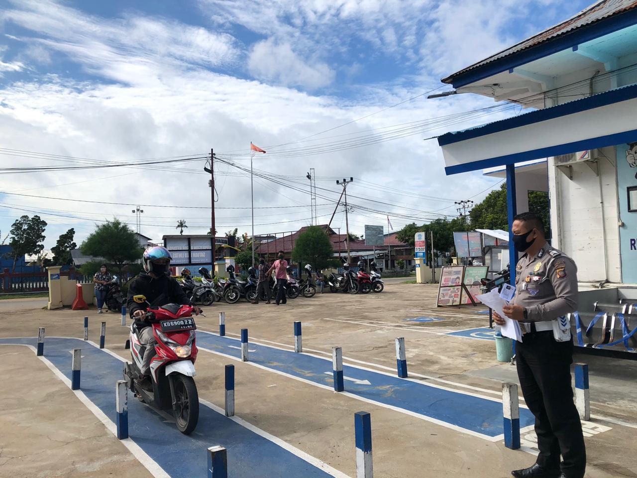Satpas SIM Ketapang Tetap Layani Masyarakat,Ini yang Di lakukan Satlantas Polres Ketapang