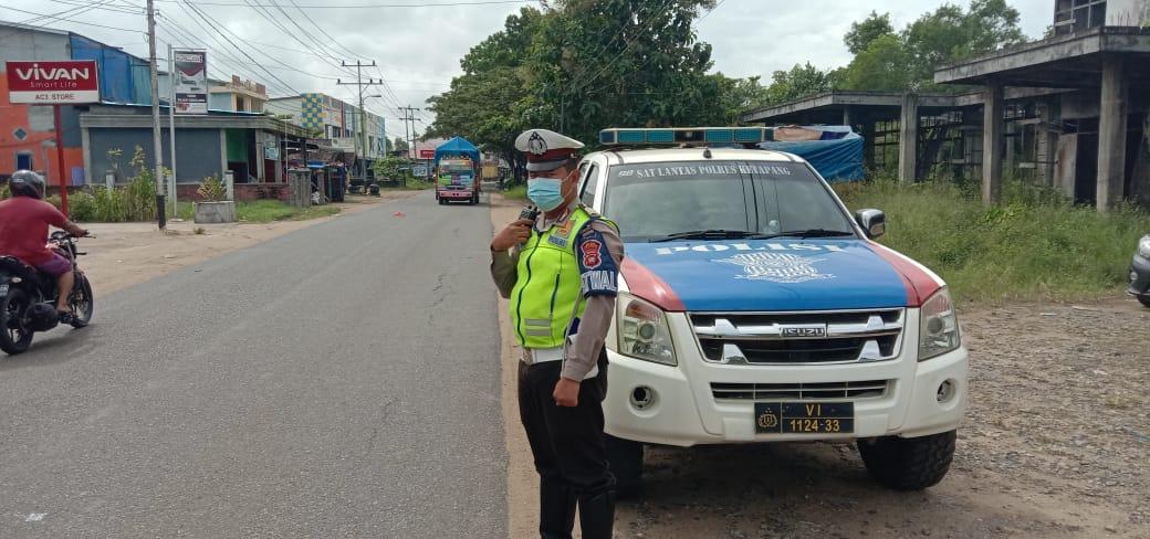 Satlantas Polres Ketapang Tingkatkan Patroli Siang Hari