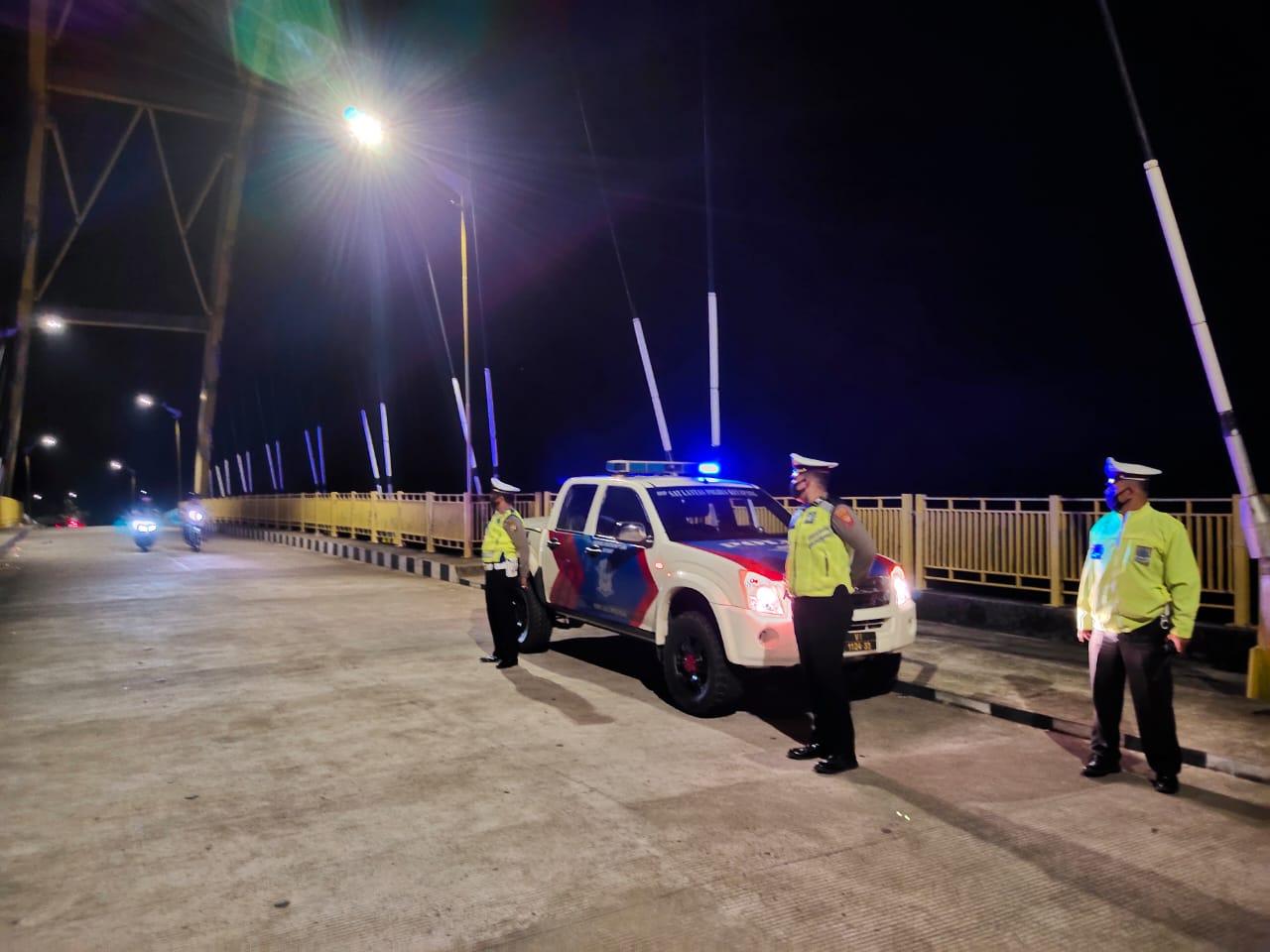 Patroli Malam Cegah Kriminalitas Jalanan