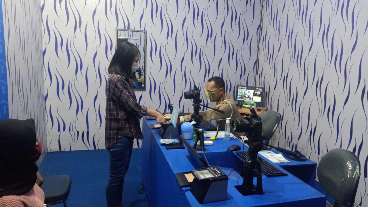 Adaptasi Kebiasaan Baru, Sat Lantas Polres Ketapang Berlakukan Prosedur Ketat Pelayanan SIM