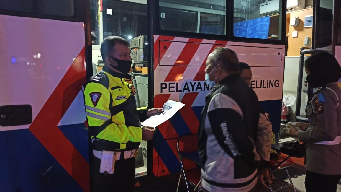 Satlantas Polres Ketapang Buka Lagi Layanan SIM Keliling