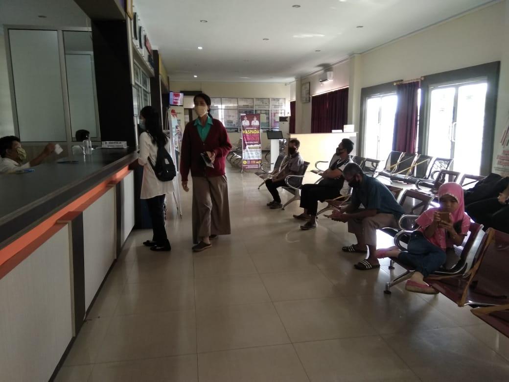 Memasuki Ruang Pelayanan SAMSAT, Ikuti Protokol Kesehatan