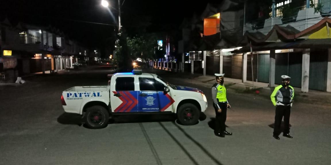 CEGAH BALAP LIAR SATLANTAS KETAPANG PATROLI MALAM HINGGA SUBUH HARI