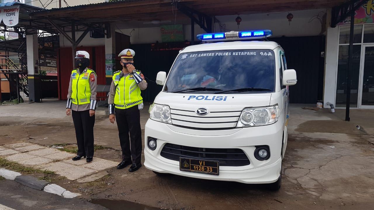 Satlantas Polres Ketapang tekan angka kecelakaan lewat Penling