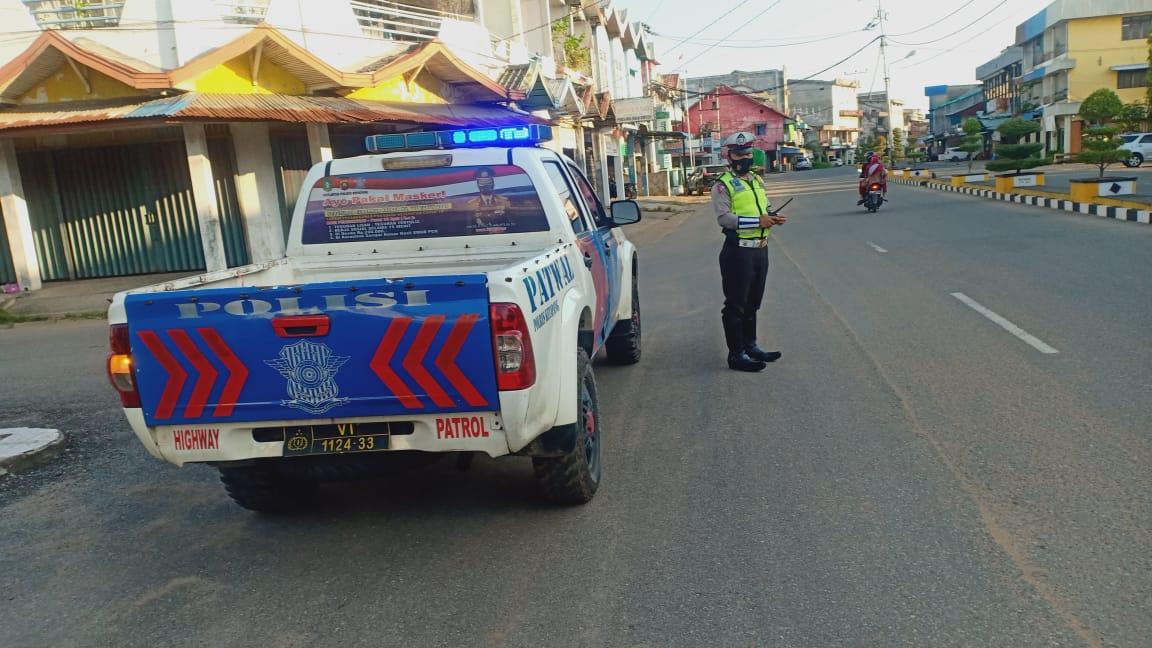 Polisi Antisipasi Jalur Balap Liar dengan Patroli Sore