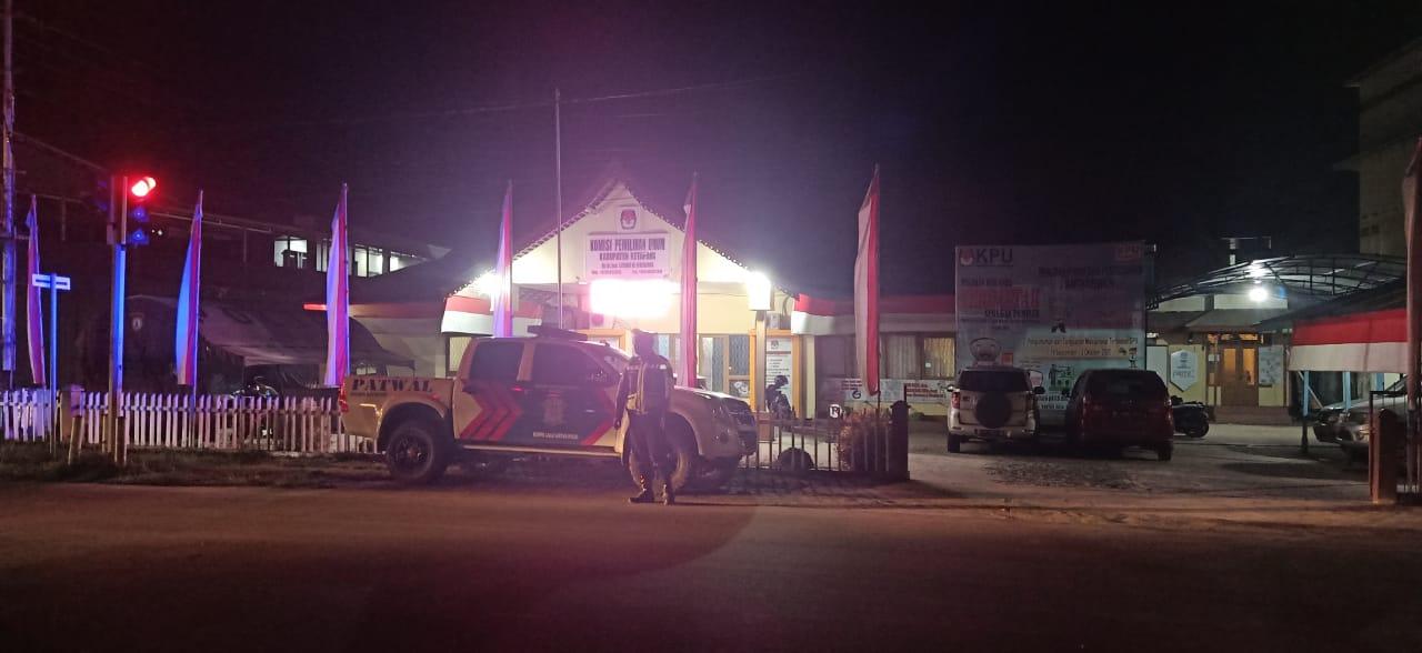 Cegah Kriminalitas, Pelanggaran dan Laka Lantas, Satlantas Laksanakan Patroli Malam
