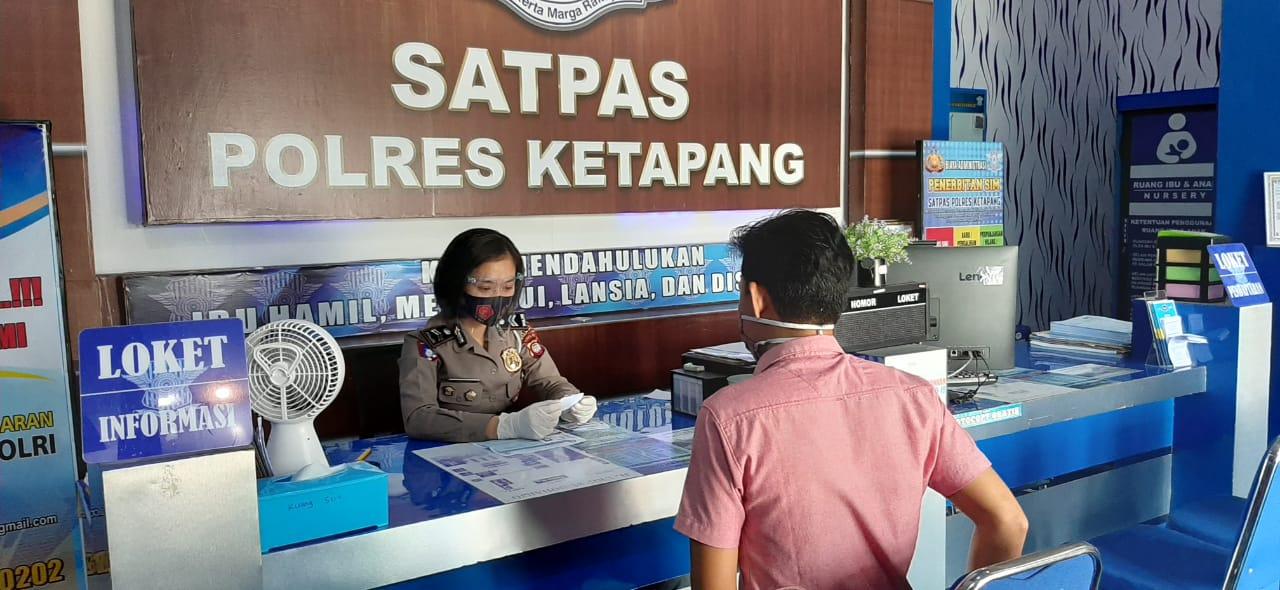 BERIKUT PERSYARATAN PEMBUATAN SIM PADA MASA NEW NORMAL DI PELAYANAN SATPAS SIM SATLANTAS POLRES KETA