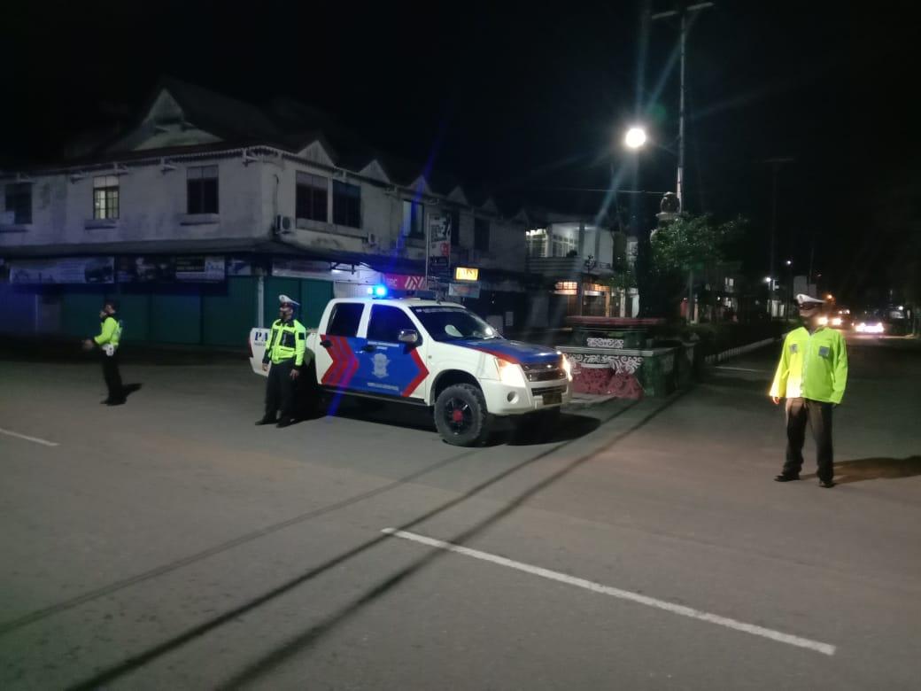 Patroli Jalan Merdeka Kota Ketapang Antisipasi Balap Liar