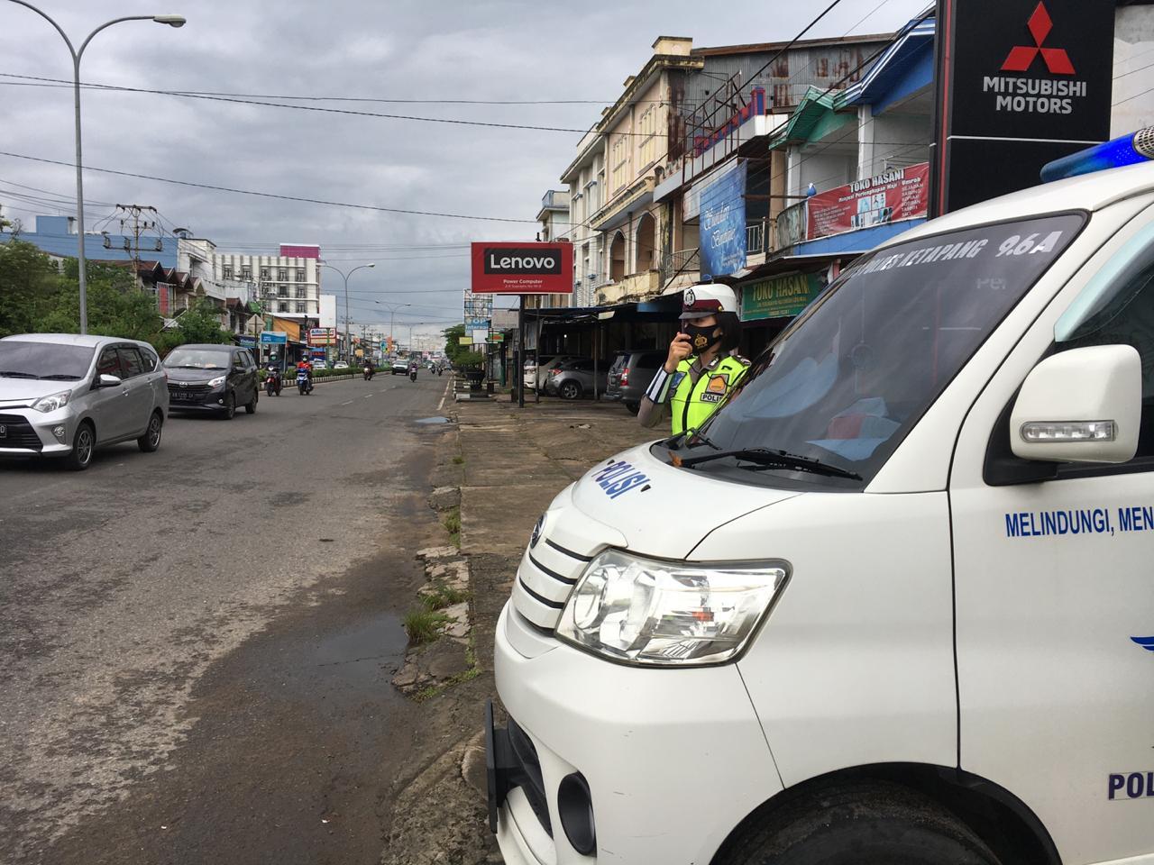 Briptu Agustina Edukasi Masyarakat dengan Penyuluhan Keliling dari Sp. Agusjam Ketapang