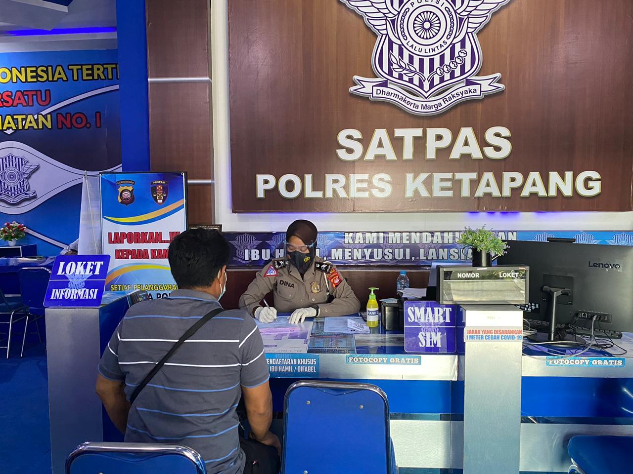 Syarat Penerbitan SIM, di Pelayanan Satpas Ketapang Jalan Urip Sumoharjo, Mulia Baru