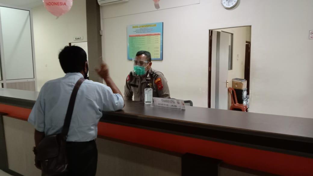 Pelayanan satpas Ketapang, terapkan protokol kesehatan cegah covid 19