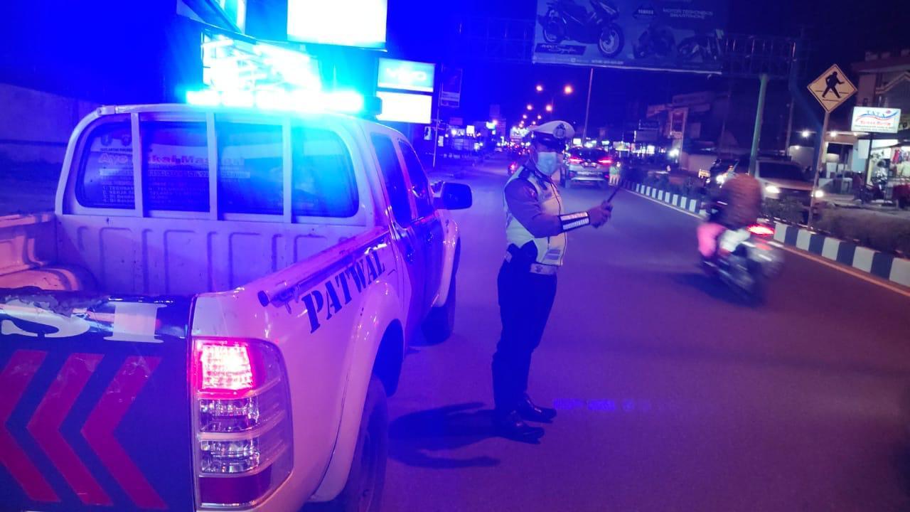 BLP Satlantas Ketapang, cegah terjadinya aksi ugal ugalan di jalan